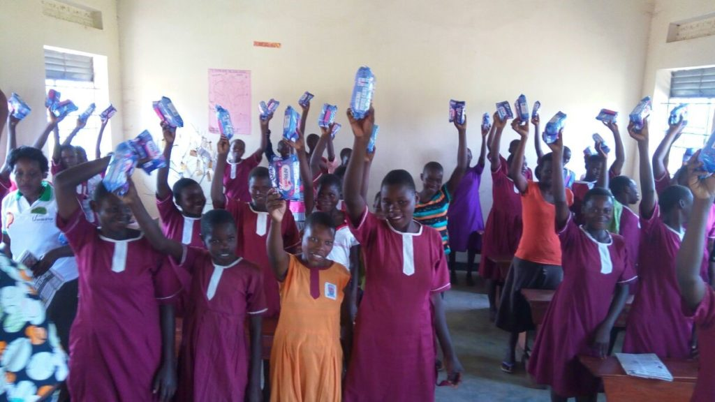 Sanitary Pad Project The Umbrella of Hope Foundation
